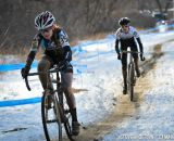 Ellen Noble and Ellen Sherill battled it out for much of the race. © Steve Anderson