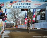 Mo Bruno-Roy takes the Women's Singlespeed National Championship title. © Steve Anderson