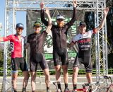 Pacifica's Men's A podium minus. © Philip Beckman