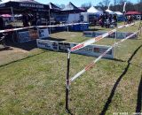GACX showcased a set of barriers.  © Cyclocross Magazine