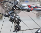 SRAM's new Force CX1 rear derailleur will come in a medium and short cage, although SRAM believes the medium cage will meet most racers' needs and provide more gearing options. © Cyclocross Magazine