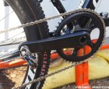 SRAM's new CX1 drivetrain relies on the S900/S950 carbon crankarms with an alloy spider. photo: Jason Sumner / RoadBikeReview.com