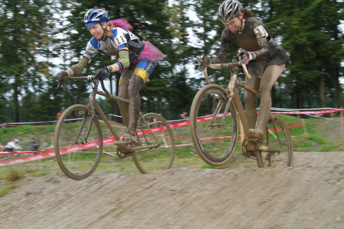 Real Women Ride in the Mud © Janet Hill