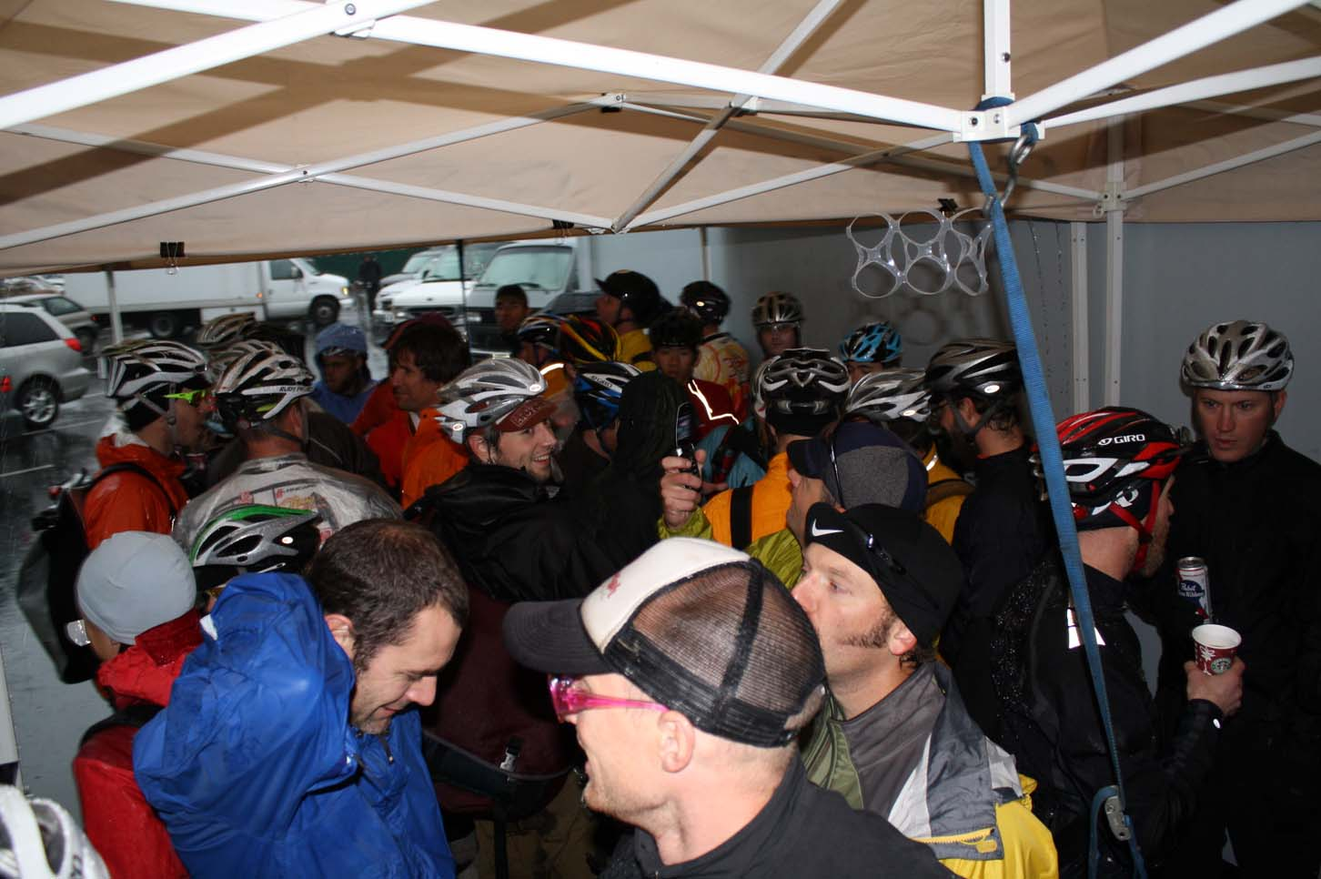 Rain and cyclocross in Portland. Perfect.