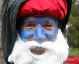Papa Smurf even made an appearance.   SSCXWC 2011 © Cyclocross Magazine