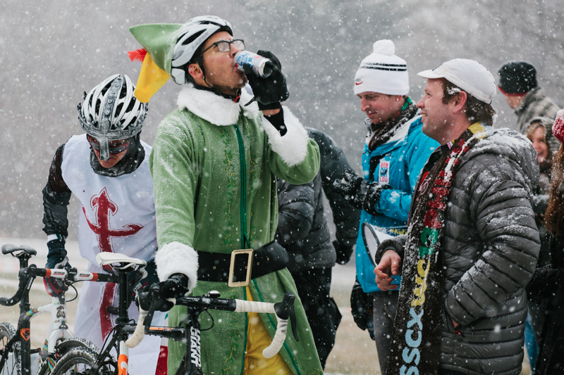 This elf will be useless in the workshop later. SSCXWC 2013. ©  Dominic Mercier