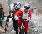 Santa is taking a quick break at SSCXWC 2013. ©  Dominic Mercier