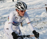 Vos rode well in the challenging conditions. ? Bart Hazen