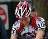 Kari Studley happy to be racing for a home crowd. ©Kenton Berg