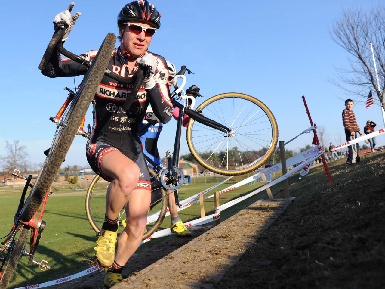 Richard Sachs rider on the run-up? Natalia McKittrick | Pedal Power Photography | 2009