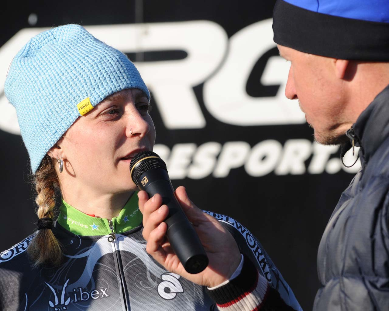 Bruno Roy on the mic ? Natalia McKittrick | Pedal Power Photography | 2009