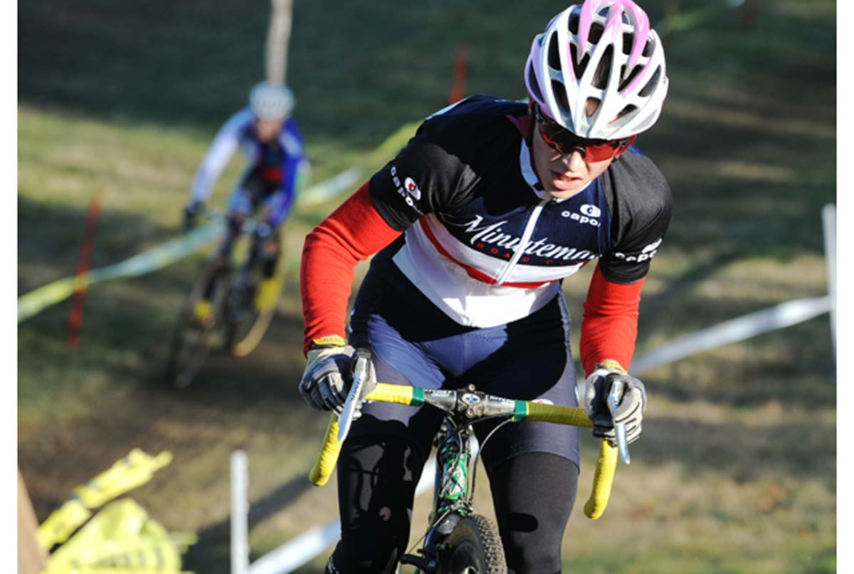 Andrea Smith continued a strong season with second at Baystate.? Natalia McKittrick, Pedal Power Photography, 2009
