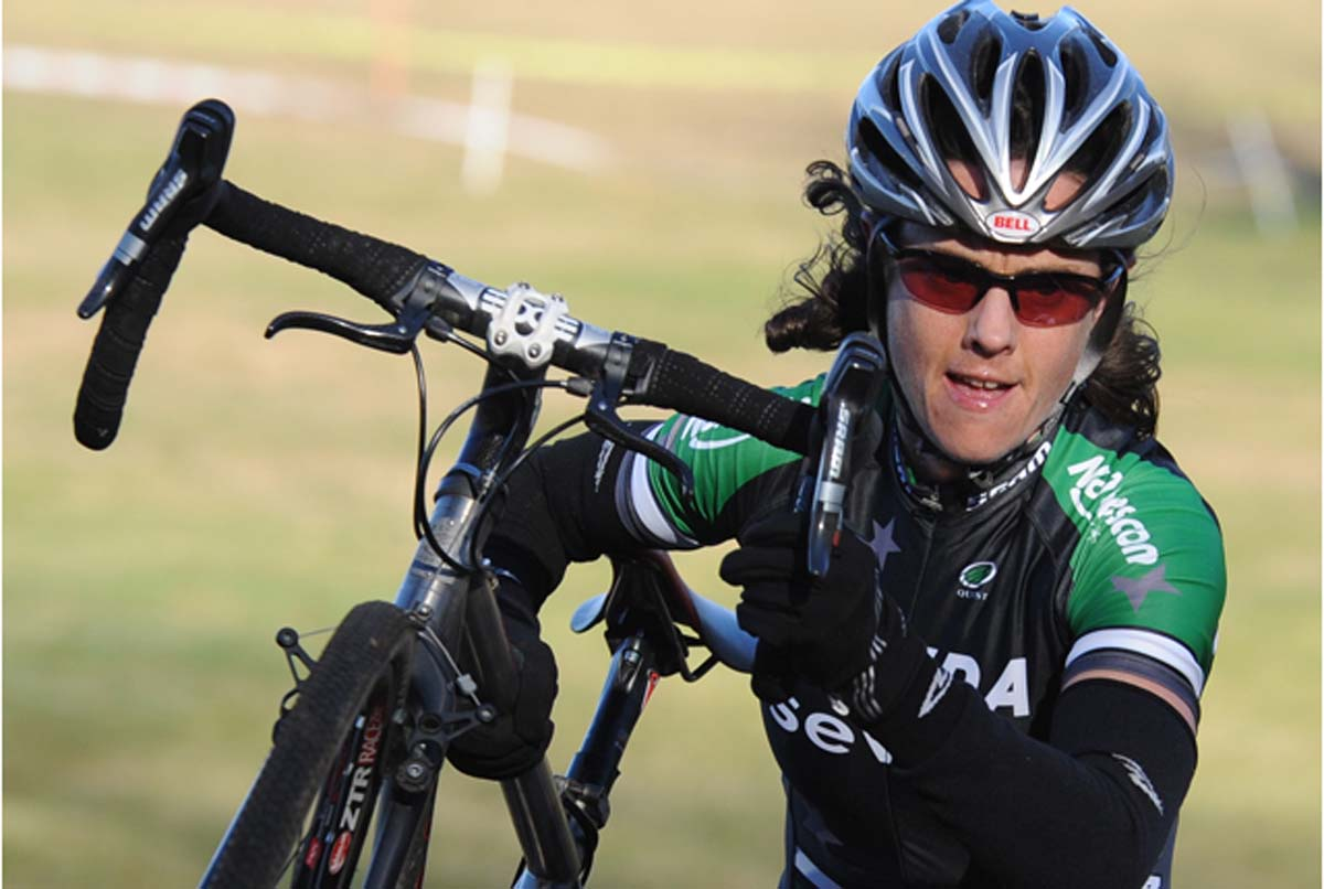 McConneloug rode with a strength the others could not match.? Natalia McKittrick, Pedal Power Photography, 2009