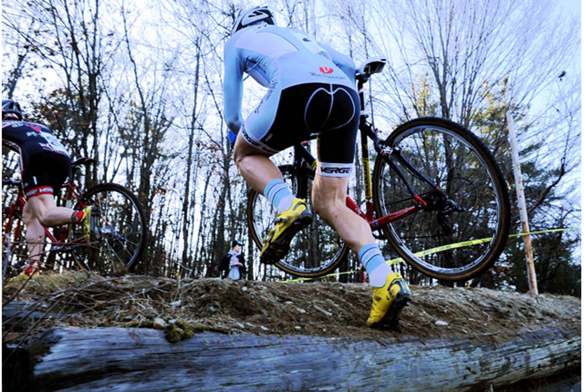 Adam Myerson on the run in Sterling.? Natalia McKittrick, Pedal Power Photography, 2009