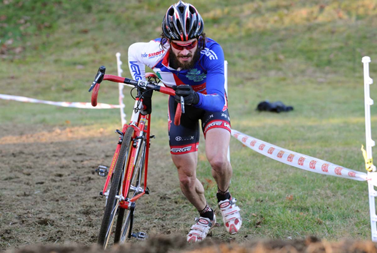 Timmerman rode with Powers most of the day to finish second.? Natalia McKittrick, Pedal Power Photography, 2009