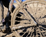 By Noon no bike was left without pounds of mud coated to every bike part. ©Steve Anderson