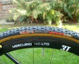 Challenge tires adorn all of Vardaros' sets of 3T Mercurio wheels. © Christine Vardaros