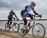 Terry Ritter and Rob Selle battle the sand ? Andrea Tucker 2009
