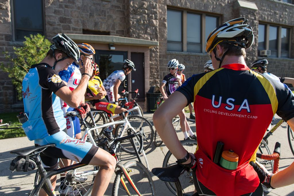 Summer USA Cycling Cyclocross Camp with Geoff Proctor. © Tom Robertson