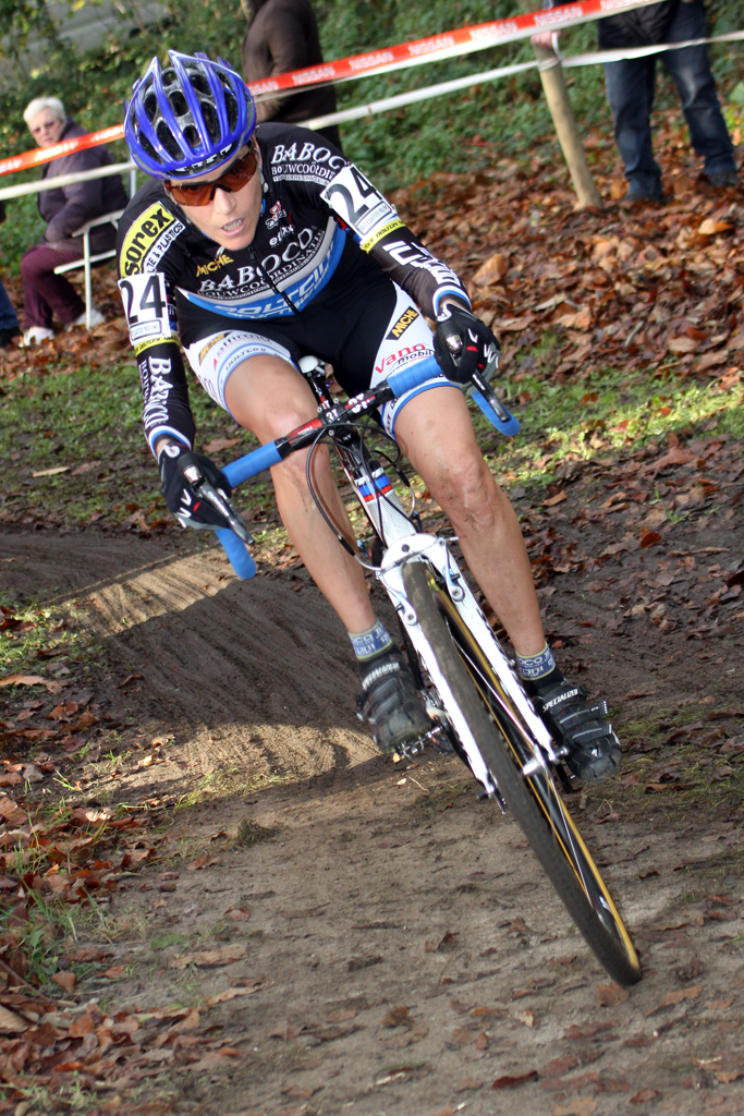 Cyclocross Magazine columnist Christine Vardaros. ©Bart Hazen