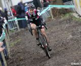 Gabby Durrin making her way through the course. © Bart Hazen / Cyclocross Magazine