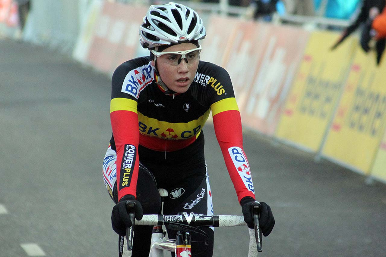 Sanne Cant would finish fourth © Bart Hazen
