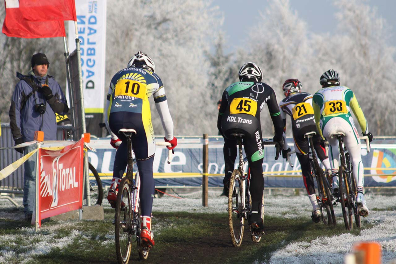 The Gieten course was a winter wonderland © Bart Hazen