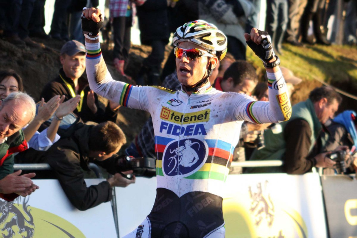 Stybar takes the win. © Bart Hazen