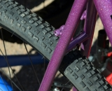The 41 Surly Knard tires on The Straggler. Interbike 2013 © Cyclocross Magazine