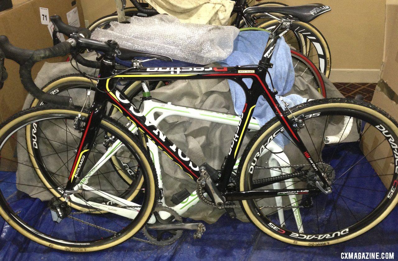 Sven Nys\' 2013 World Championship-winning Colnago Cross Prestige.  © Cyclocross Magazine