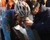Martin Bina, shown here at the 2010 World Championships, took the best win of his career today at Hoogerheide © Dan Seaton