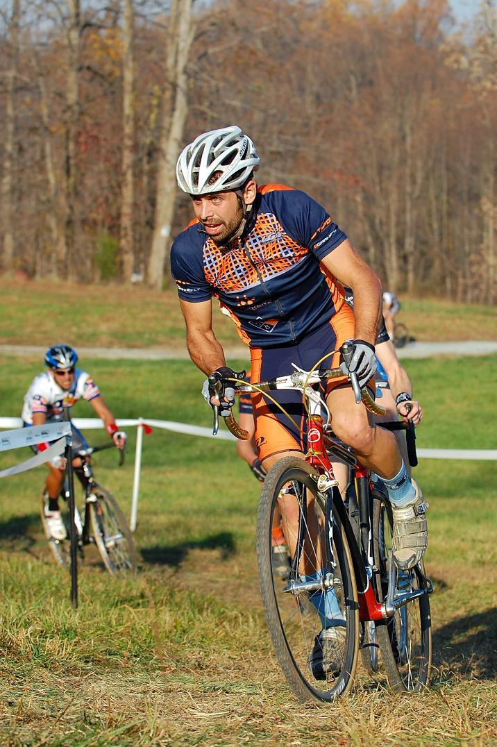 Jared Nieters rounds out the top three in the  Elite Men. ? Tom Olesnevich