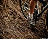 Wet weather in the week prior to the race left its mark on the Tacchino CX course. © Jay Westcott