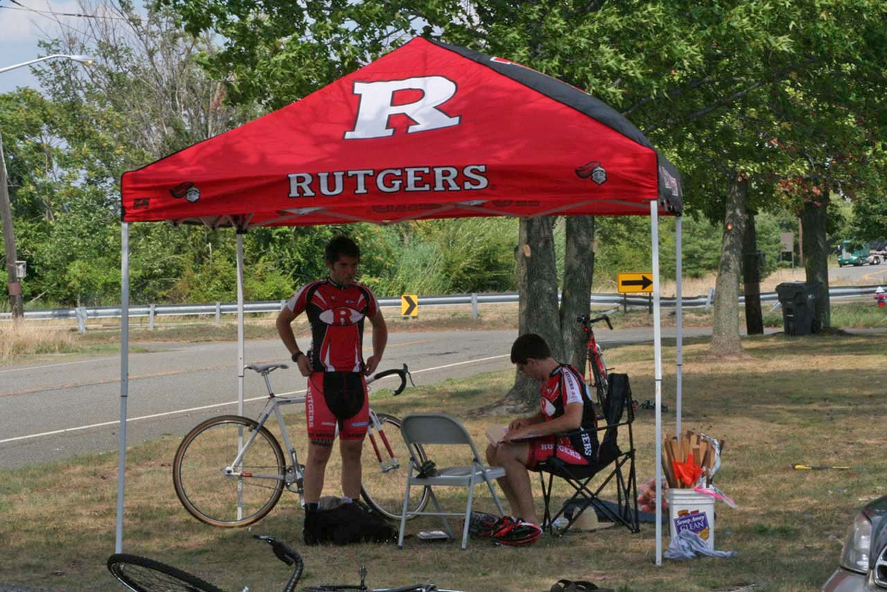The Rutgers tent is a common site at Mid-Atlantic races. © Jamie Mack 7efe7cd46