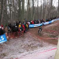 Tervuren-Jeremy Powers rode the steep up every time!