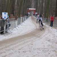 Tervuren-Niels Albert out front. Check out that frozen ground! It was COLD!