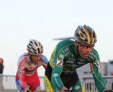 Nys applies pressure to Pauwels.© Thomas van Bracht
