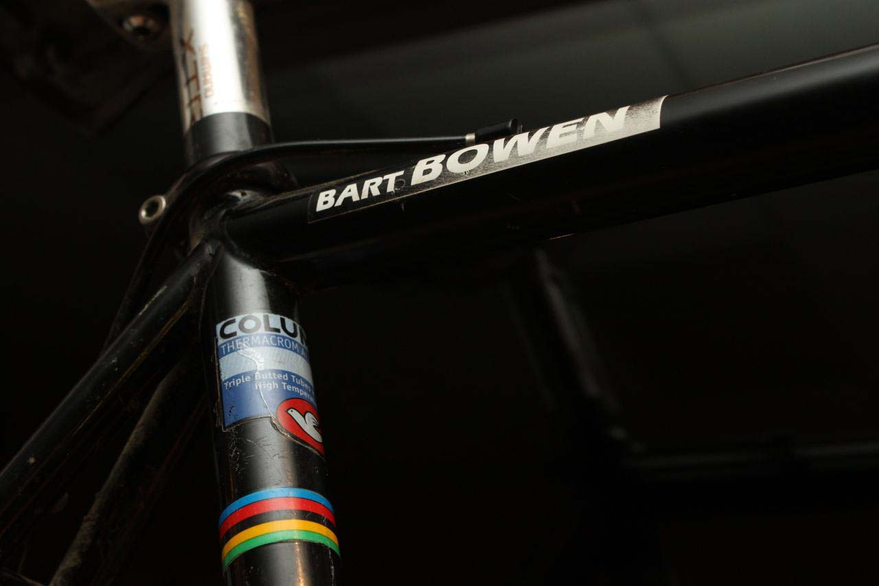 Bart Bowen's HotTubes-made Team Saturn Lemond cyclocross bike. ? Cyclocross Magazine