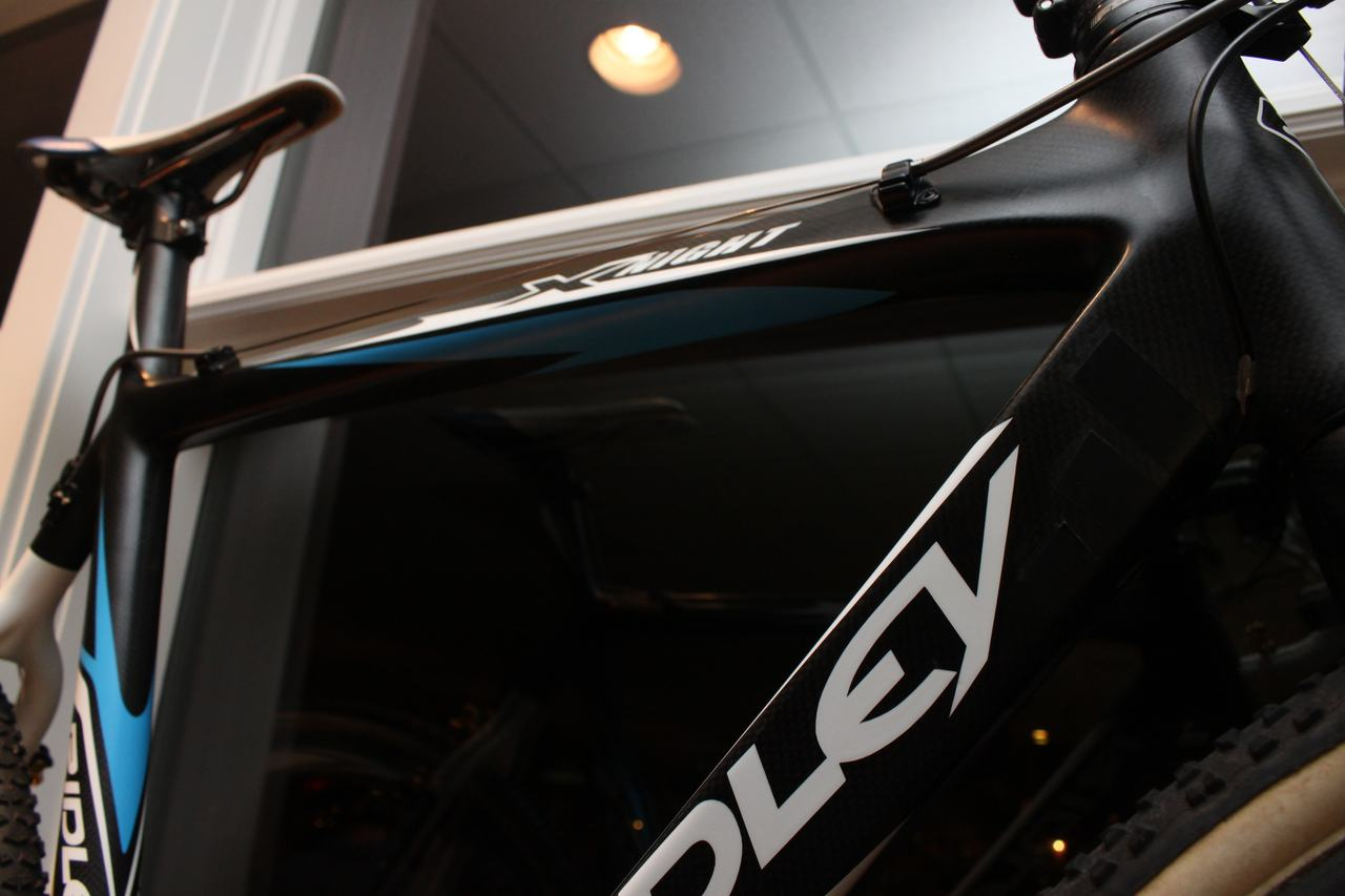 Molly Cameron\'s Shimano Dura Ace Di2-equipped Ridley X-Night. ? Cyclocross Magazine