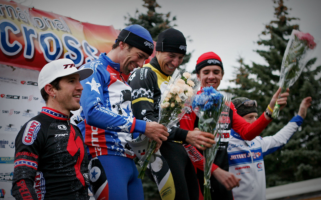 Men\'s podium, Toronto Day 1