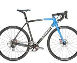 The $3049.99 Trek Boone 5 disc brake cyclocross bike with Shimano 105 and Avid BB7 brakes.