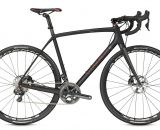 The $6299.99 Trek Boone 9 disc brake cyclocross bike, with Shimano Di2 and R785 hydraulic brakes.