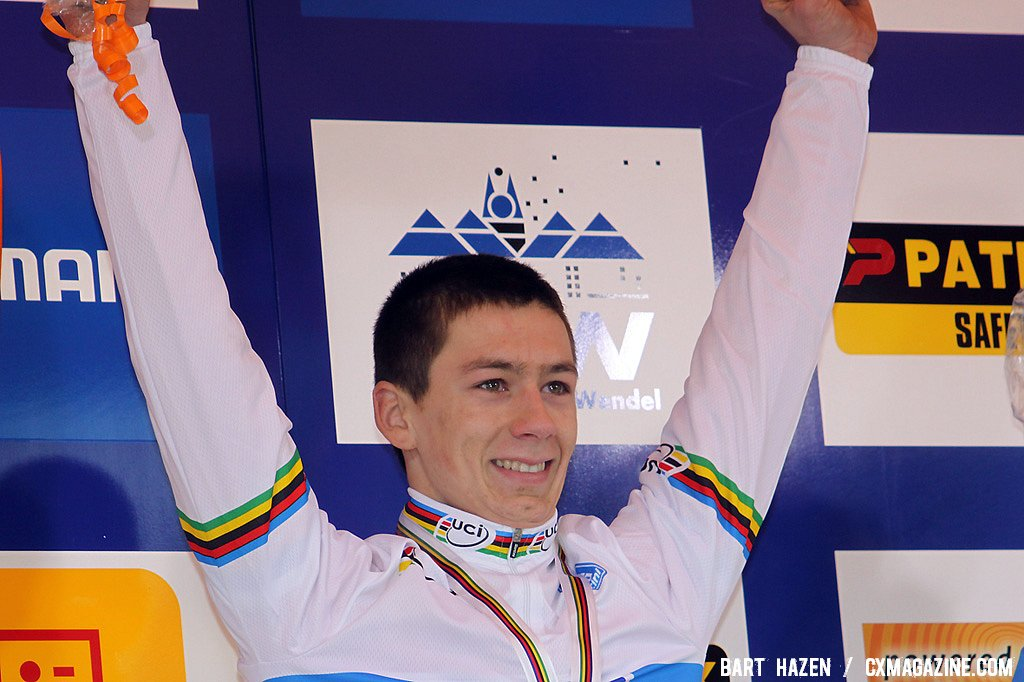 World Champion Lars van der Haar