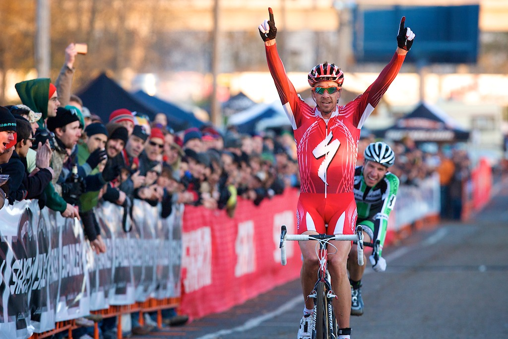 Specialized's Todd Wells takes the win. ? Joe Sales