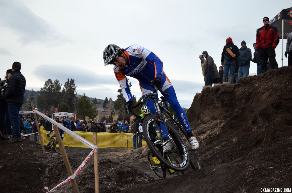Craig gets air. © Cyclocross Magazine