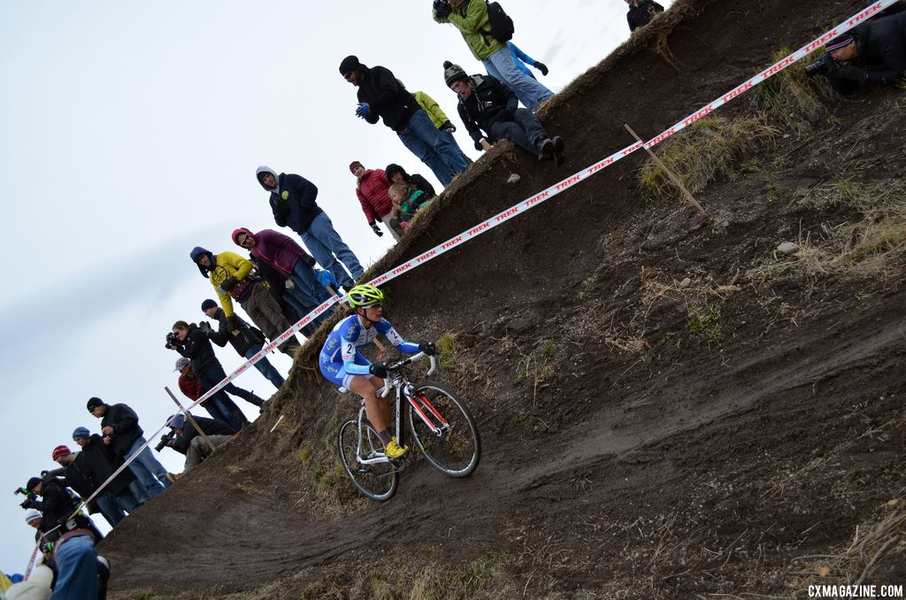 Nash pedals away. © Cyclocross Magazine