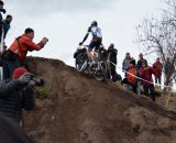 Trebon makes the rideup look easy. © Cyclocross Magazine