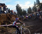 McDonald negotiates a tricky section. © Cyclocross Magazine