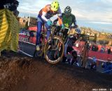 Craig works to make a separation on the field. © Cyclocross Magazine