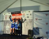 The women's podium. © Cyclocross Magazine